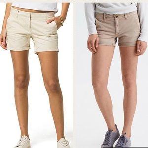Bundle:Tommy Hilfiger & V.S Modal tan/khaki shorts